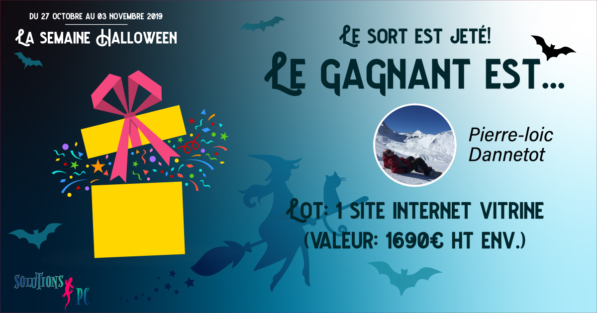 La semaine Halloween avec SolutionsPC