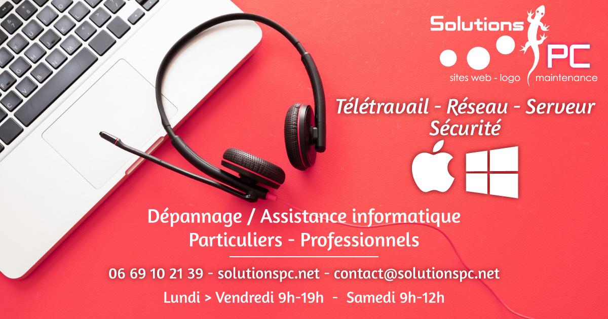 SolutionsPC à Brignoles - Informatique Particuliers et Professionnels (Var)