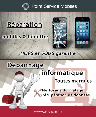 Affiche Point Services Multimedia Brignoles
