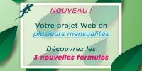 Votre projet Web, nouvelles formules